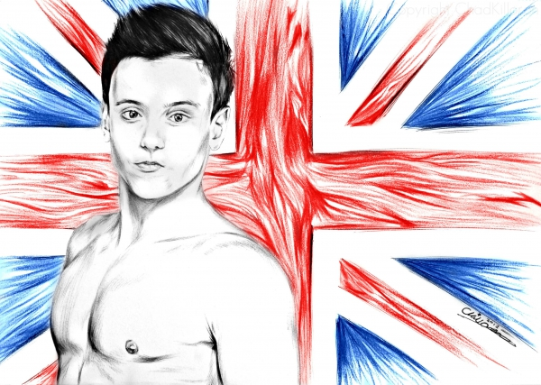 Tom Daley by ChadK